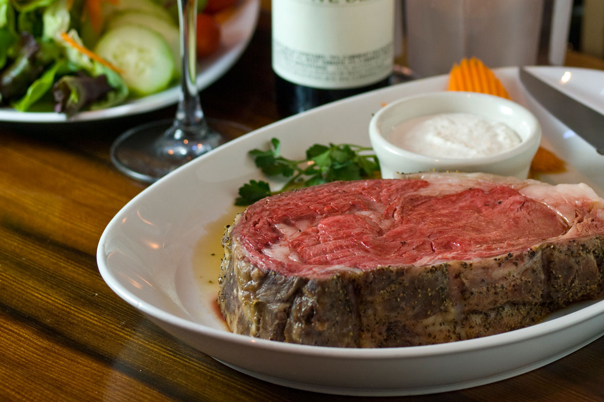 Boulder Cork Steakhouse - Prime Rib