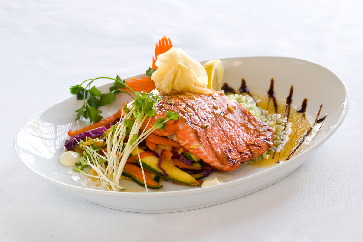 Boulder Cork Steakhouse - Salmon