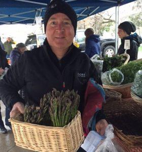 Jim at Farmer's Market