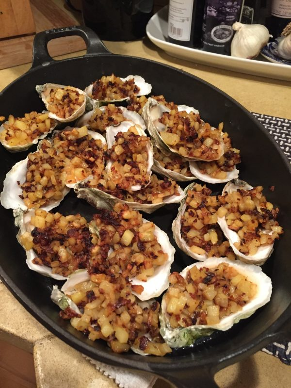 Chef Jim's Holiday Oyster Recipe