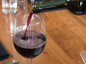 Red Wine at the Boulder Cork