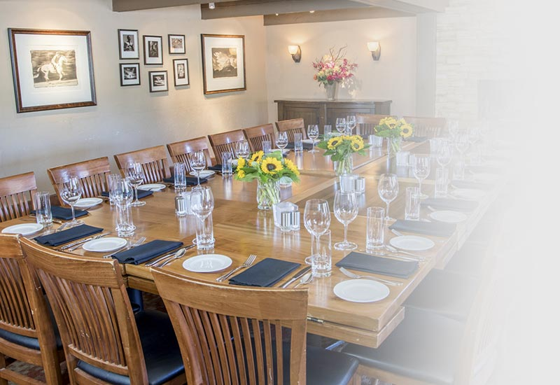 Comfortable, intimate and beautiful spaces for private parties and group events in Boulder, Colorado