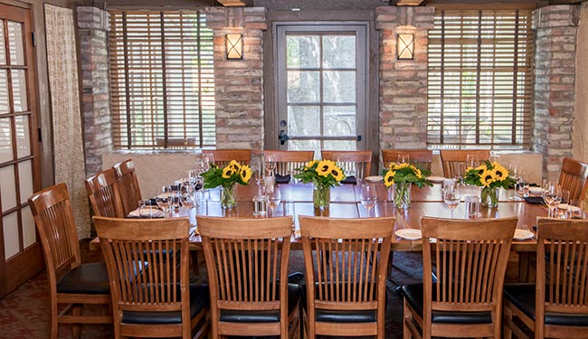 Small garden room for private parties and group events in Boulder, Colorado